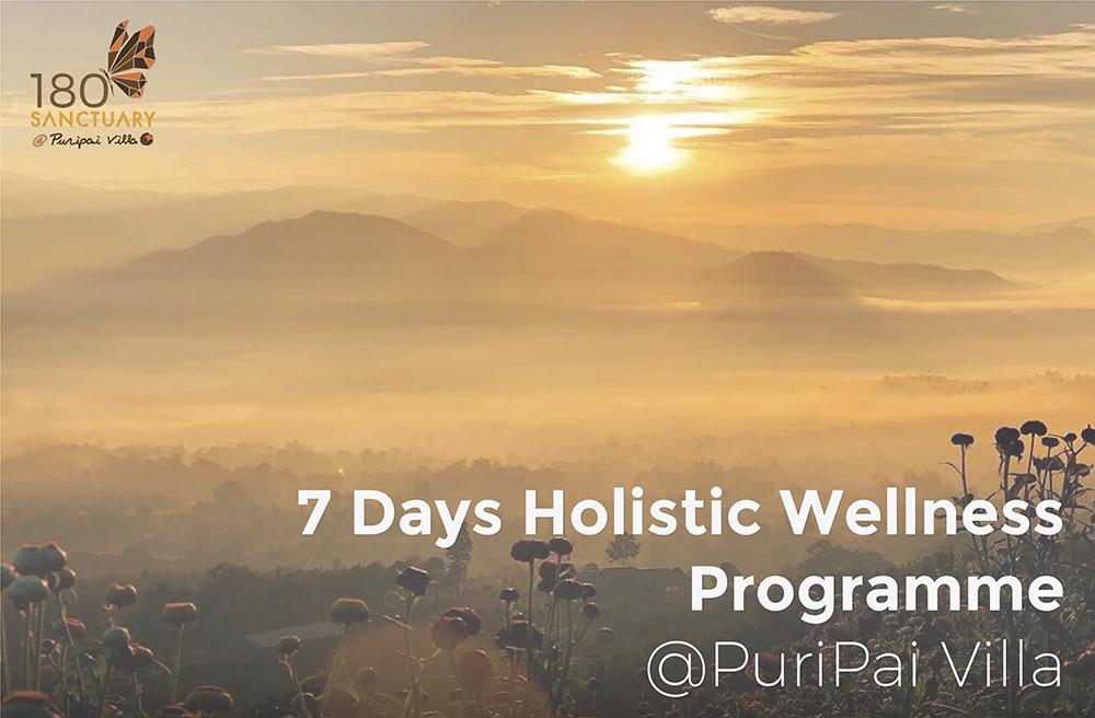 7 Days Wellness Retreat Programme